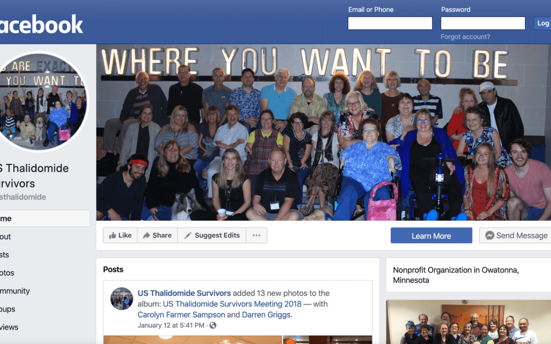 Like our new Facebook page