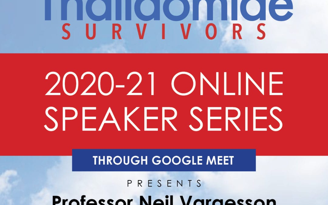 USTS to welcome Professor Vargesson as first in our Online Speaker Series