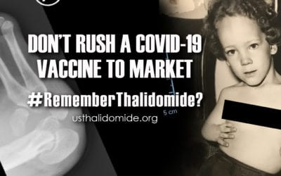 US Thalidomide Survivors announce #RememberThalidomide? graphic campaign